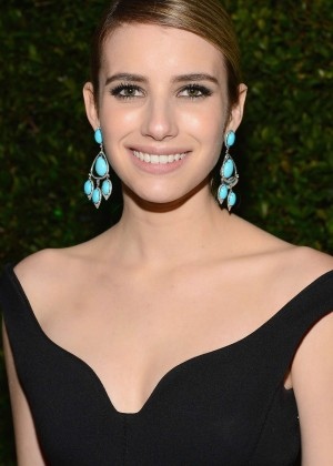 Emma Roberts: Golden Globe 2014 Awards -08
