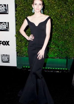 Emma Roberts: Golden Globe 2014 Awards -09