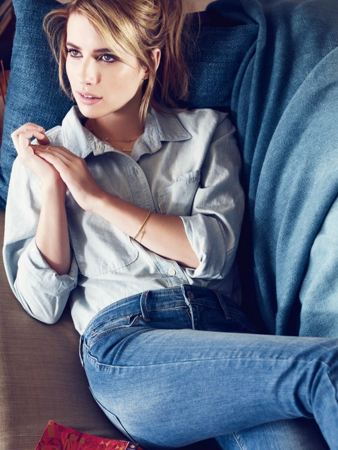 Emma Roberts - Levi's Photoshoot 2014