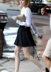 Emma Roberts - On the Set of Empire State-09