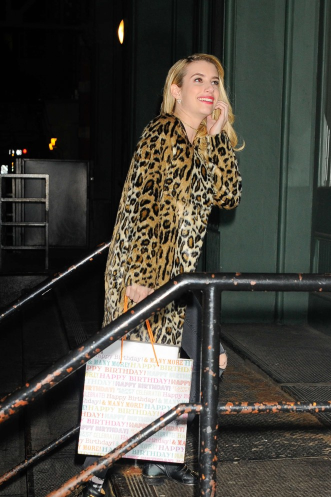 Emma Roberts - Taylor Swift's Birthday Party in NYC