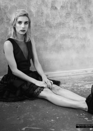 Emma Roberts - The Wild Magazine Radiant issue 2015