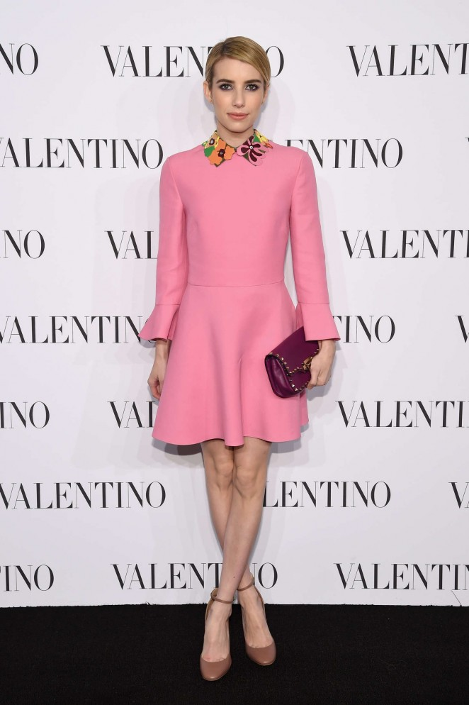 Emma Roberts - Valentino Sala Bianca 945 Event in NYC