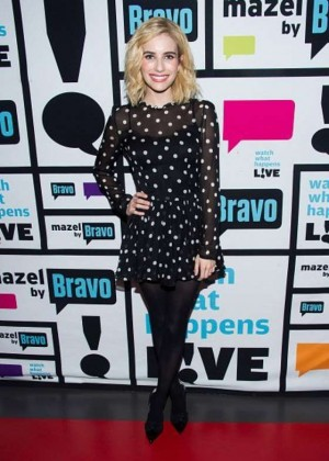 Emma Roberts - Watch What Happens Live in NYC