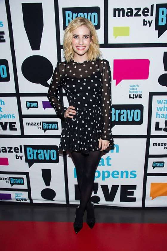 Emma Roberts – Watch What Happens Live in NYC