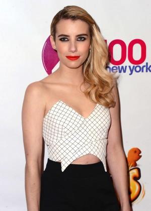 Emma Roberts - Z100's Jingle Ball 2014 in NYC