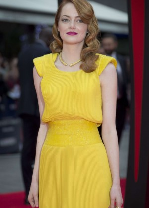 Emma Stone: Amazing Spiderman 2 Premiere -07