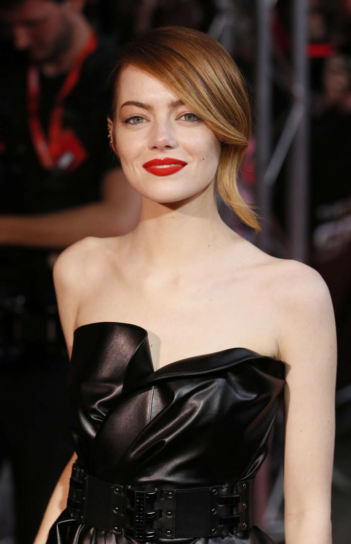 Emma Stone at Amazing Spiderman 2 Premiere -03