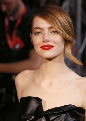 Emma Stone at Amazing Spiderman 2 Premiere -07