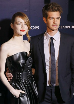 Emma Stone at Amazing Spiderman 2 Premiere -09