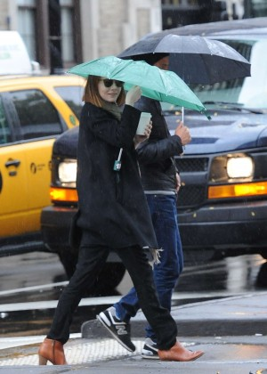 Emma Stone & Andrew Garfield Out in NYC