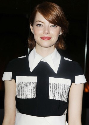 Emma Stone - 'Birdman Or The Unexpected Virtue Of Ignorance' Special Luncheon in NYC