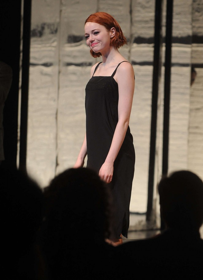 Emma Stone - Broadway Debut In 'Cabaret' in NYC