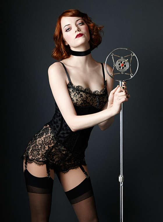 Emma Stone - Cabaret Promo Pic