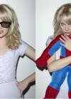 Emma Stone With Spider-Man for EW Magazine (May 2012)
