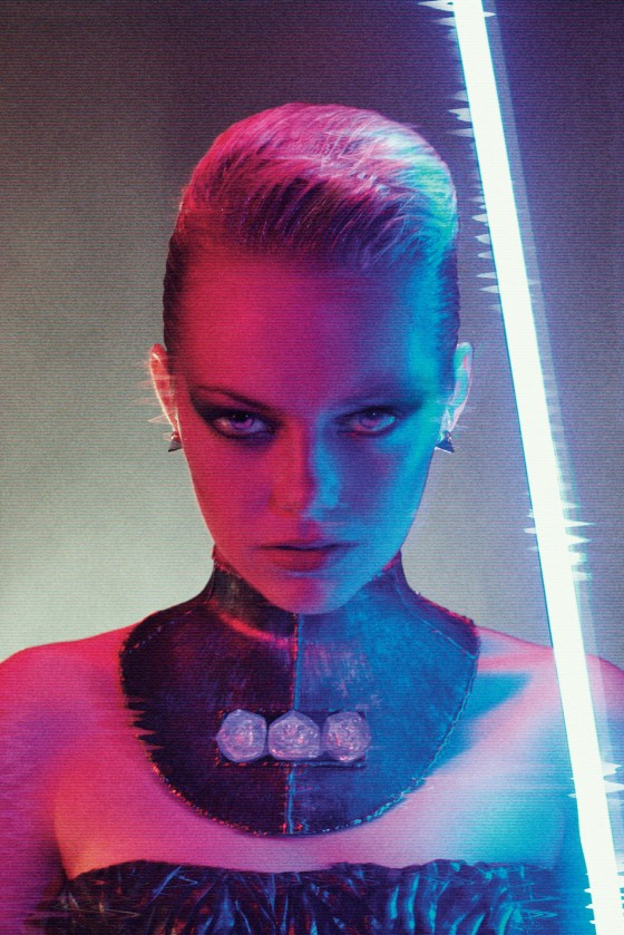 Emma Stone in Interview Magazine September 2012