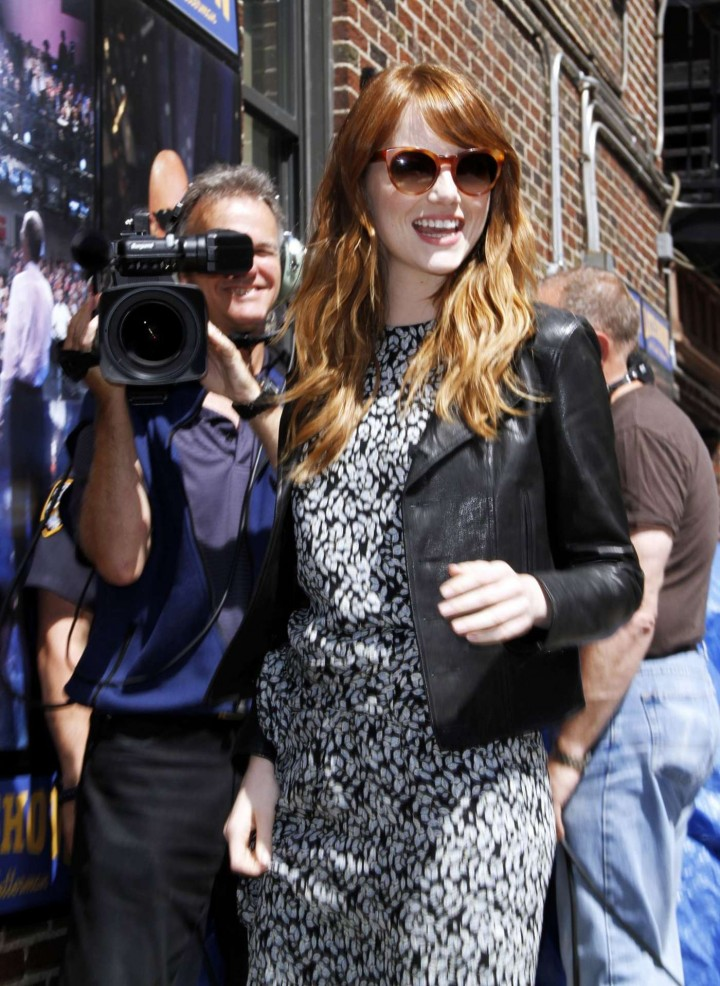 Emma Stone – 'Late Show with David Letterman' in NY