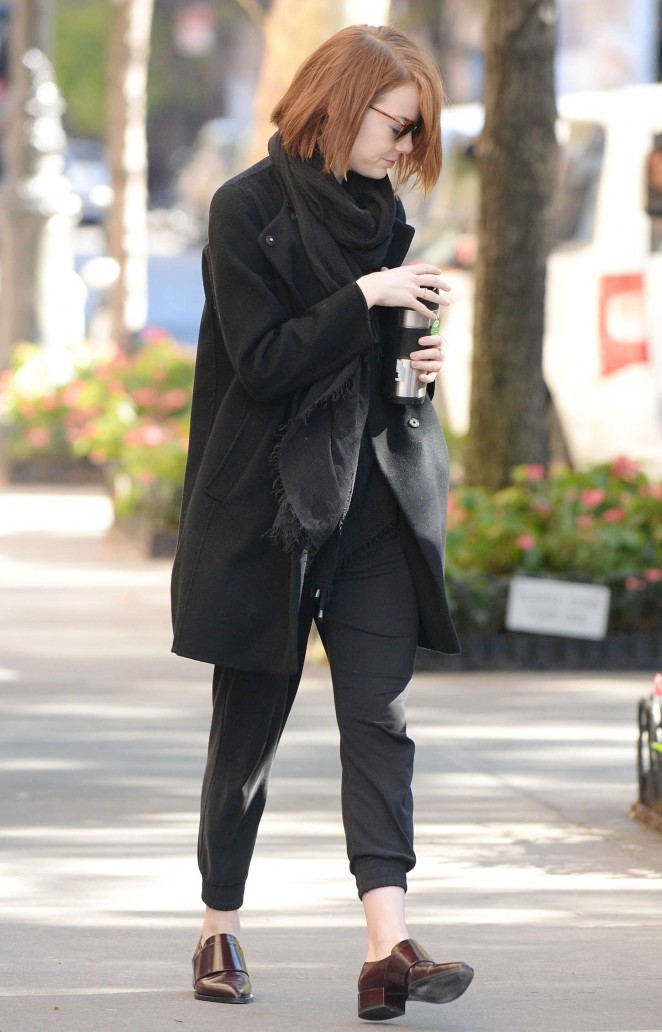 Emma Stone Style out and about in NYC