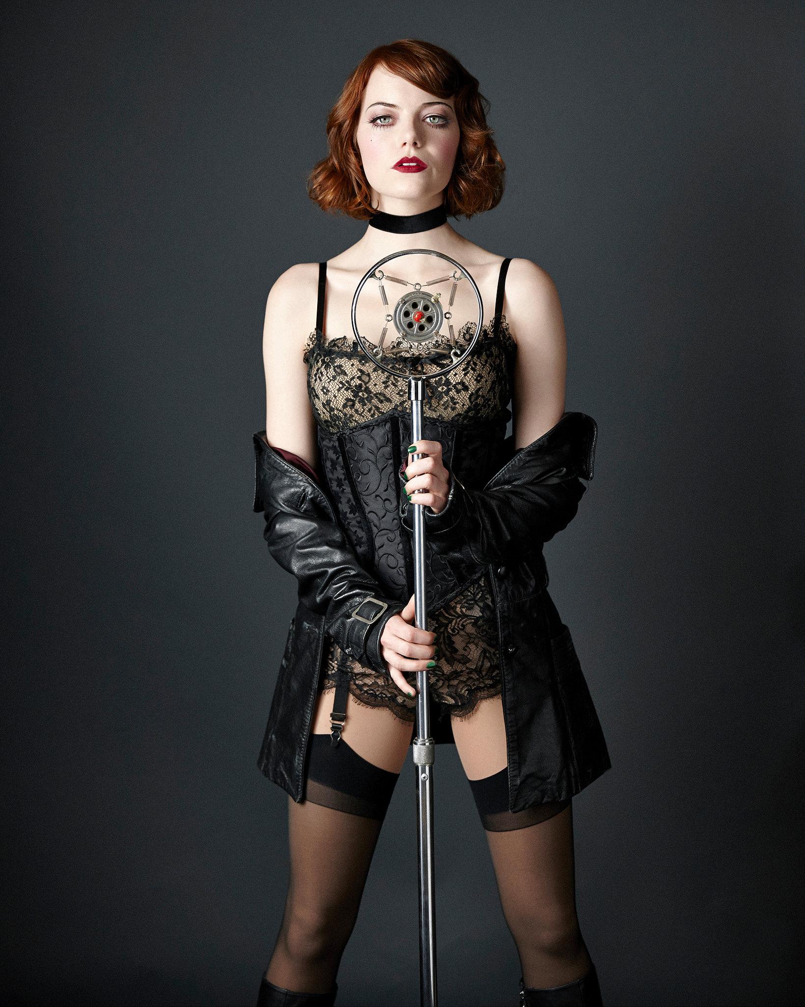 Emma Stone: Vanity Fair 2014 - Cabaret Prmo -03 - GotCeleb Emma Stone