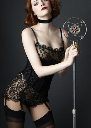 Emma Stone: Vanity Fair 2014 - Cabaret Prmo -03 - GotCeleb