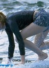 Emma Stone Surfing Photos: 2014 in Hawaii -12
