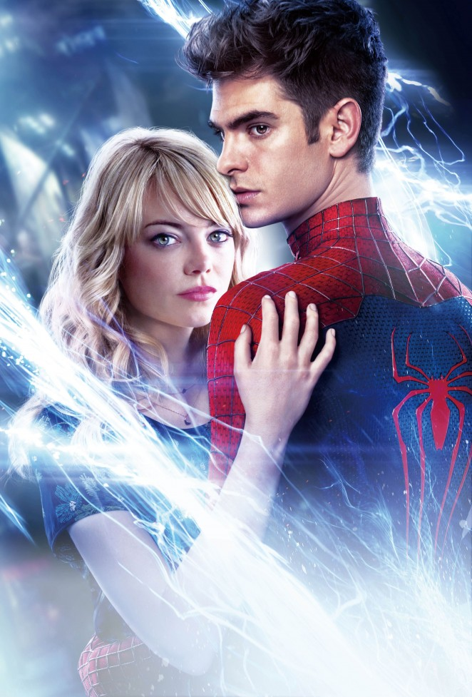 Emma Stone - The Amazing Spider-Man 2 Posters & Promoshoot 2014