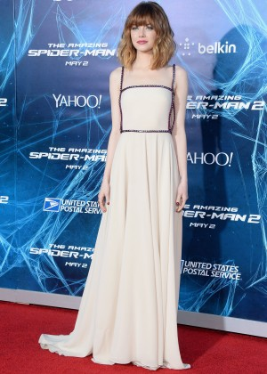 Emma Stone - The Amazing Spider-Man 2 premiere in NY -01