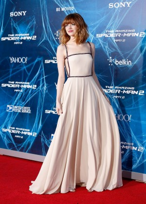 Emma Stone - The Amazing Spider-Man 2 premiere in NY -02