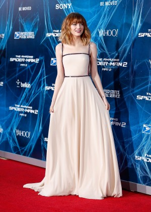 Emma Stone - The Amazing Spider-Man 2 premiere in NY -03