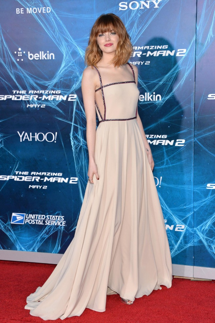 Emma Stone - The Amazing Spider-Man 2 premiere in NY -06