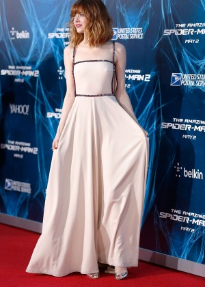 Emma Stone - The Amazing Spider-Man 2 premiere in NY -07