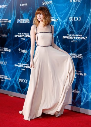 Emma Stone - The Amazing Spider-Man 2 premiere in NY -08