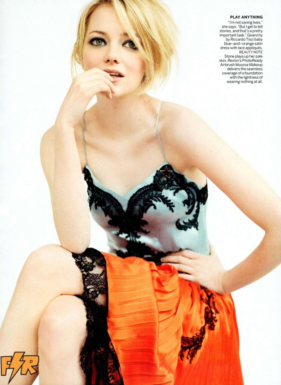 Emma Stone - Looking hot in Vogue magazine (July 2012)