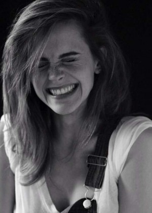 Emma Watson - B&W photoshoot 2014 (unknown)