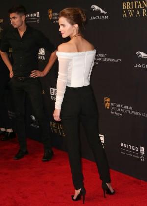 Emma Watson: 2014 BAFTA Los Angeles Jaguar Britannia Awards in Beverly Hilla