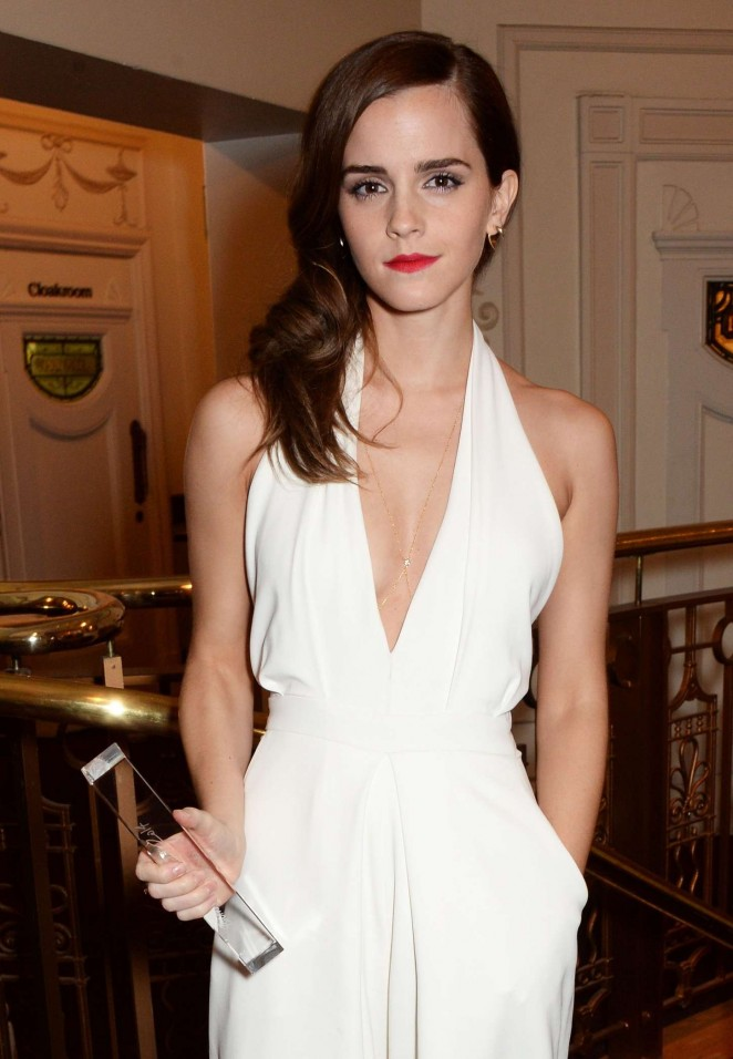 Emma Watson - 2014 British Fashion Awards in London adds