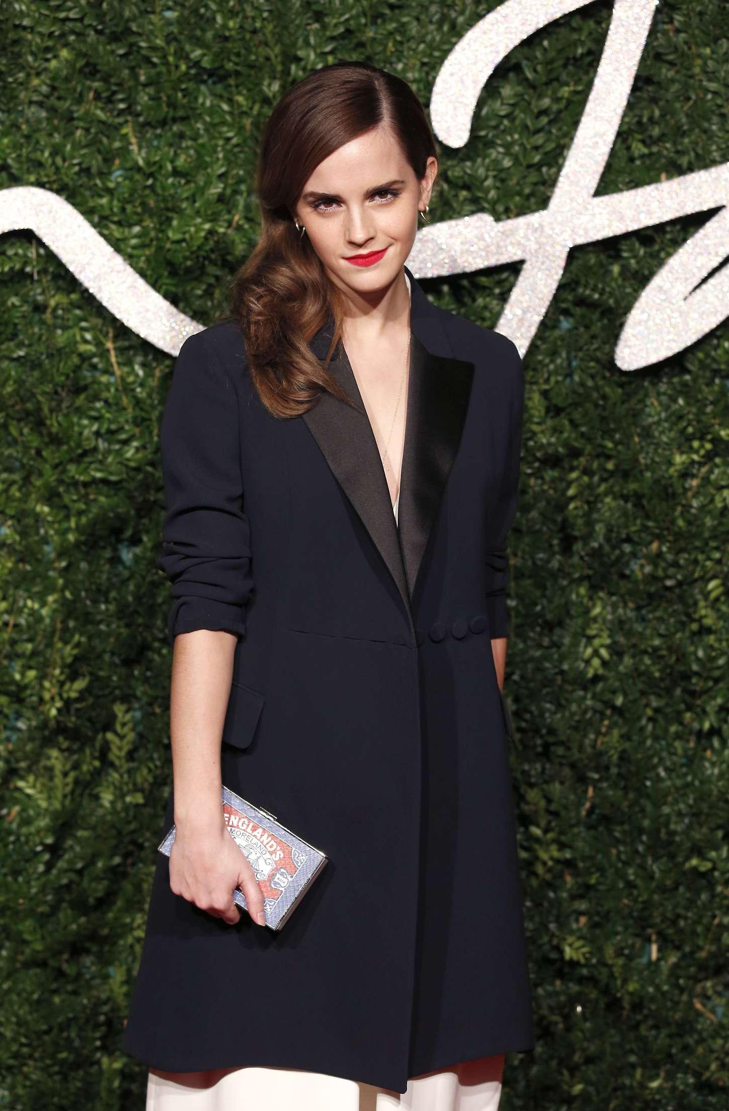 Emma Watson 2014 British Fashion Awards In London