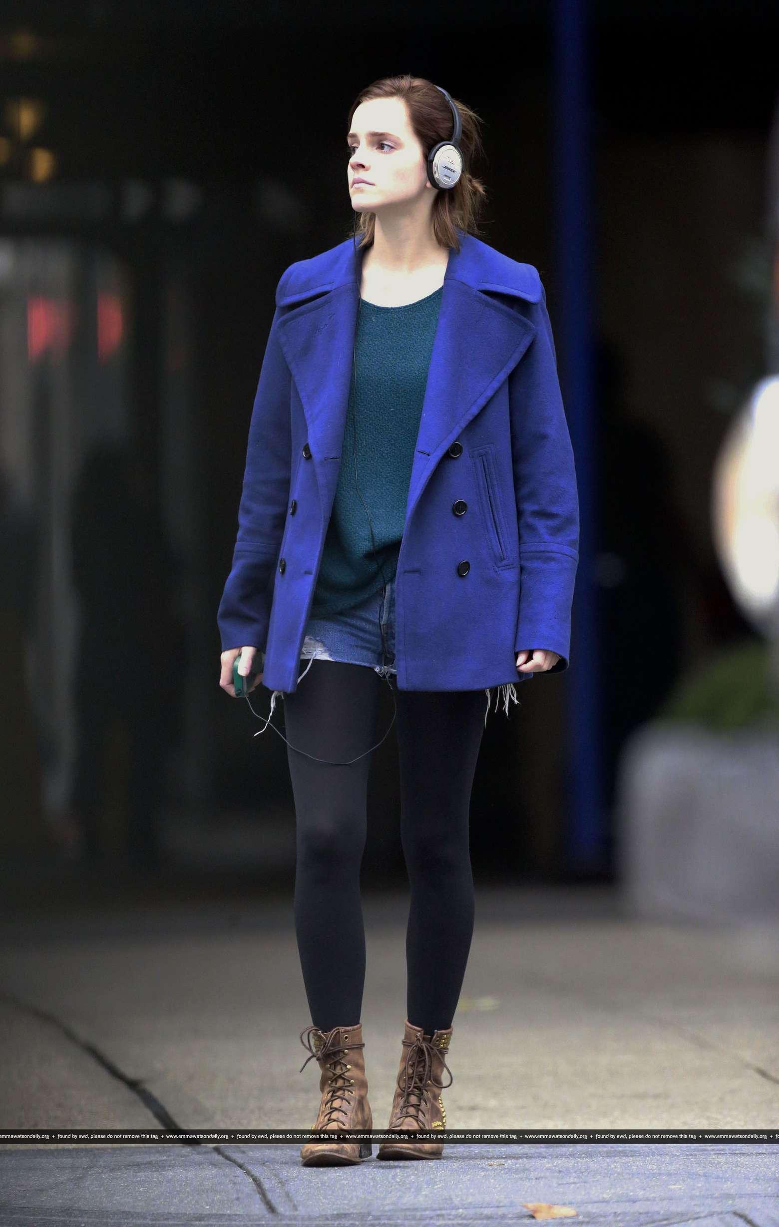 Emma watson candids in new york city 04 gotceleb Emma watson fashion and style
