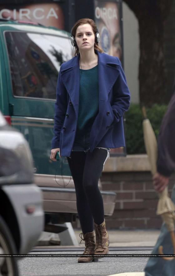 Emma Watson Candid