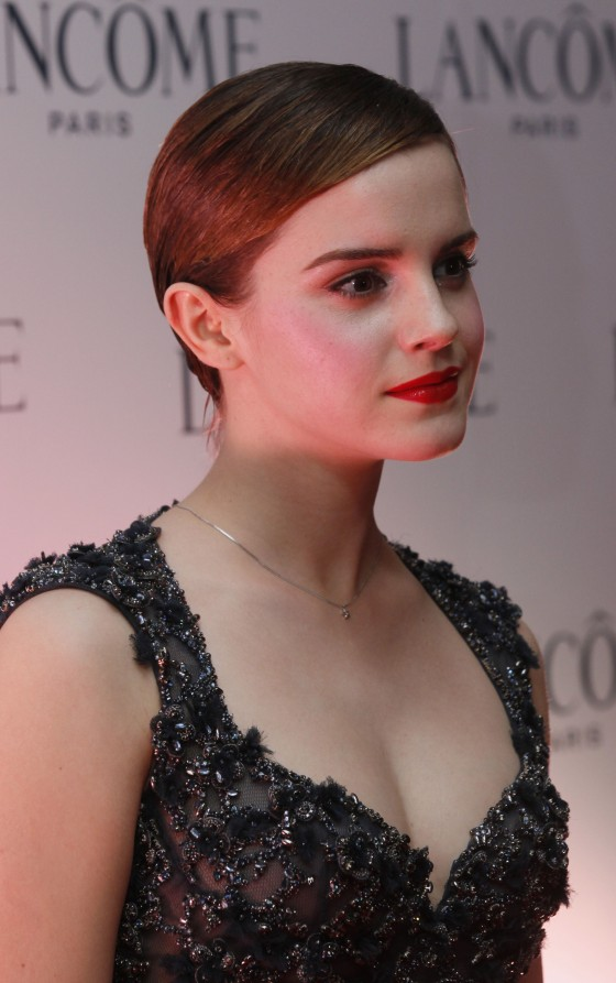 Emma Watson - Promotional Event For A Cosmetic Brand In Hong Kong