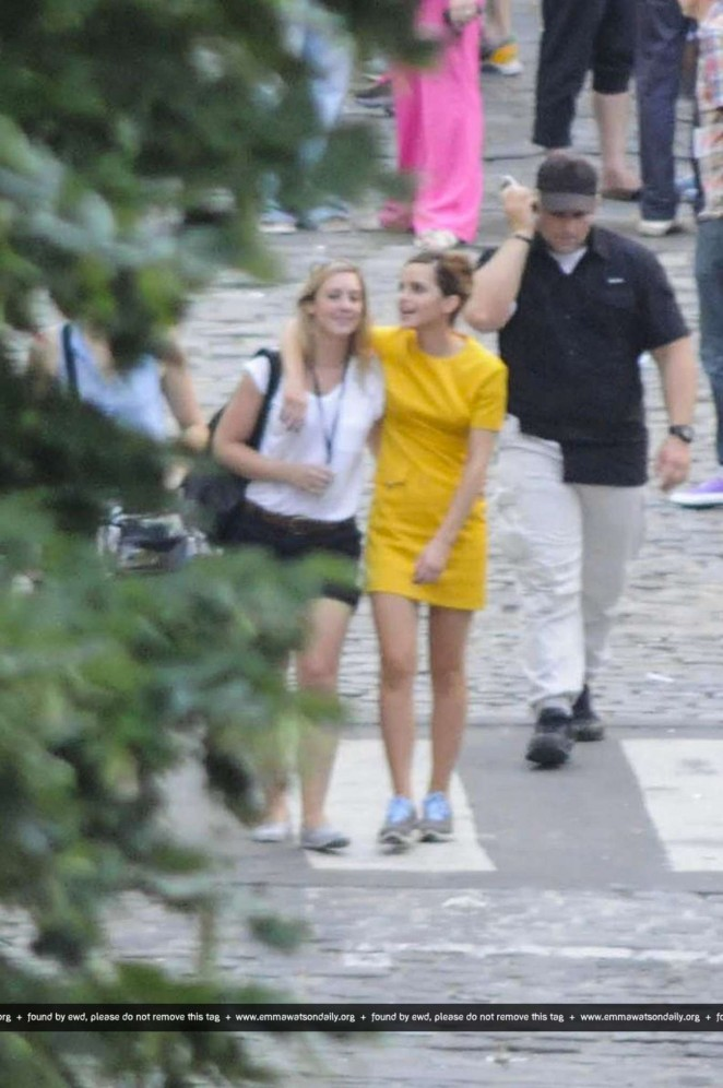 "Emma Watson - ""Colonia Dignidad"" Set Pics at San Telmo in Argentina"