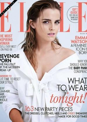 Emma Watson - Elle Australia Cover (December 2014)