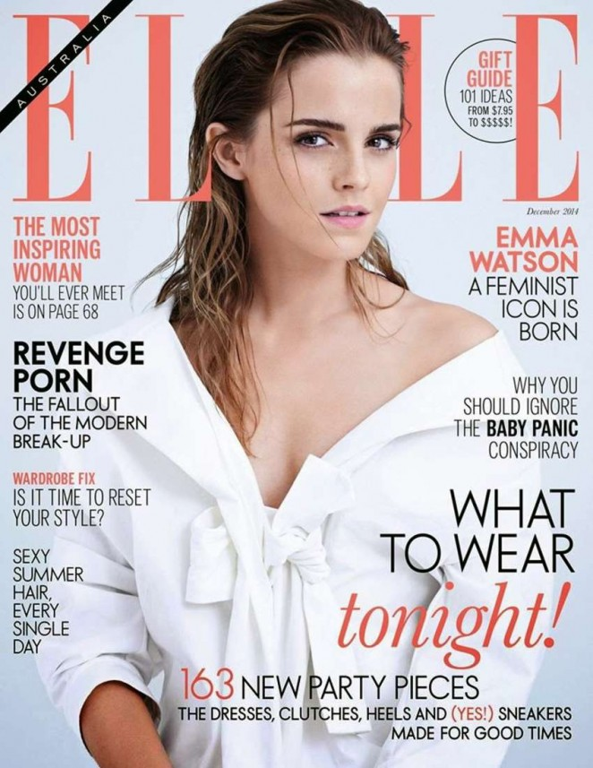 Emma Watson – Elle Australia Magazine (December 2014)