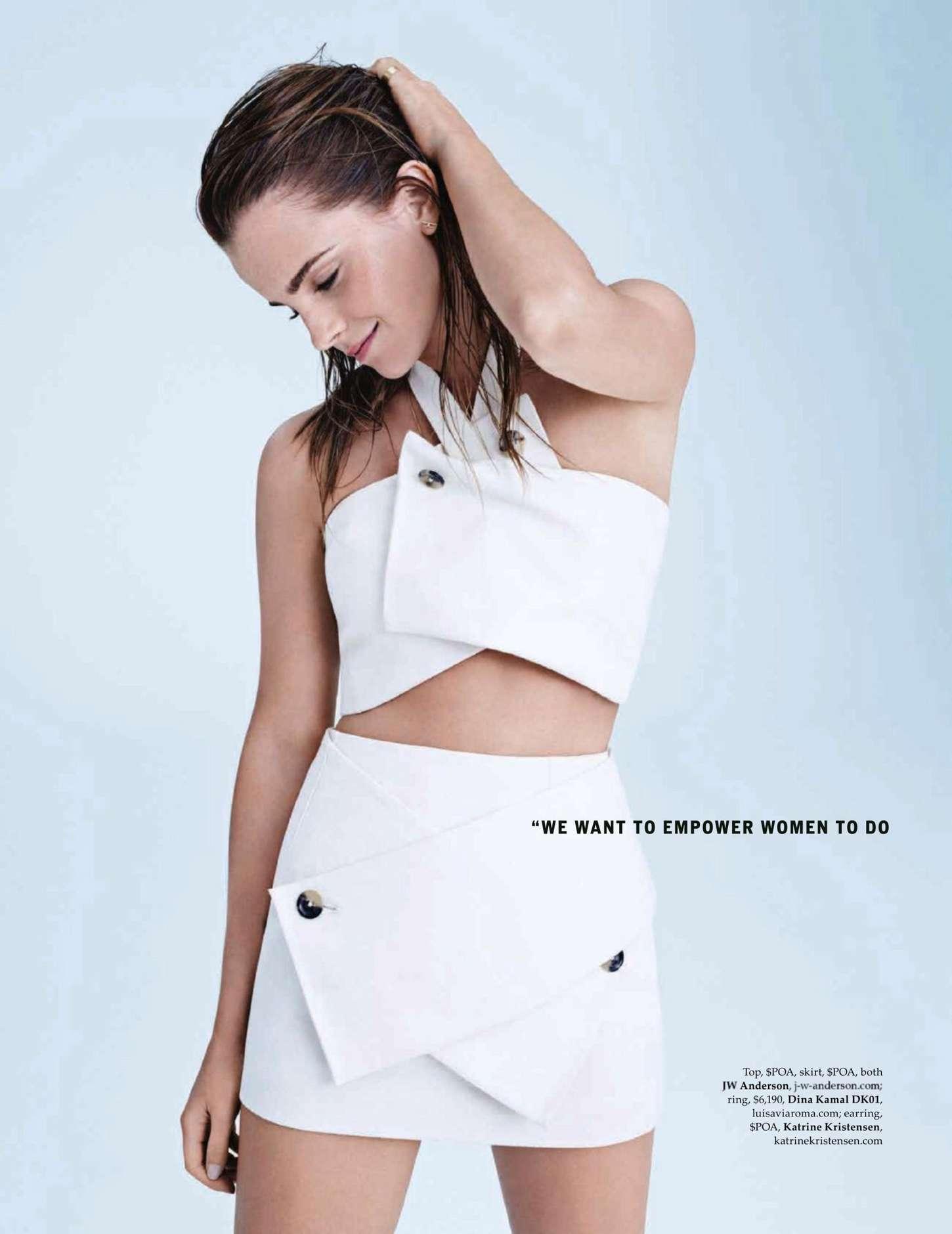 Emma Watson - Elle Australia Magazine (December 2014)