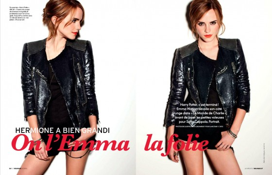 Emma Watson in Elle Belgium Magazine Photoshoot January 2013
