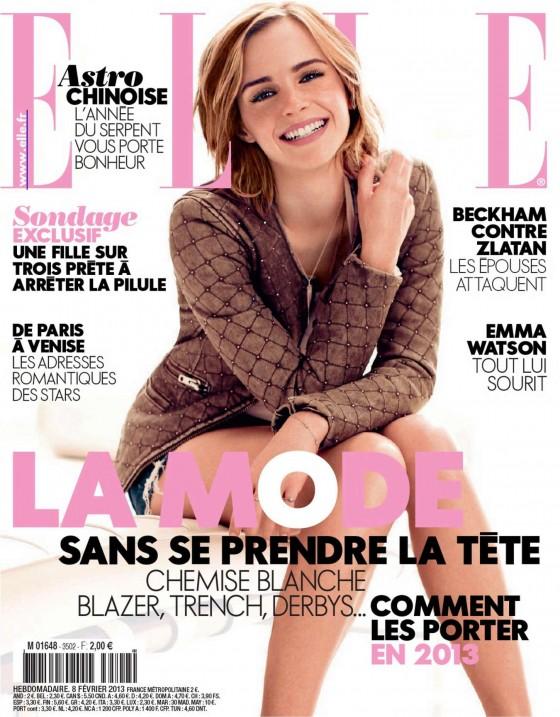Emma Watson – Elle France 2013-01