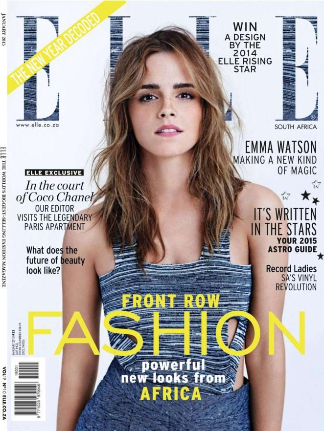 Emma Watson: Elle South Africa 2015 -01