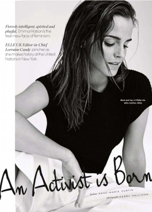 Emma Watson - Elle South Africa Magazine (January 2015)