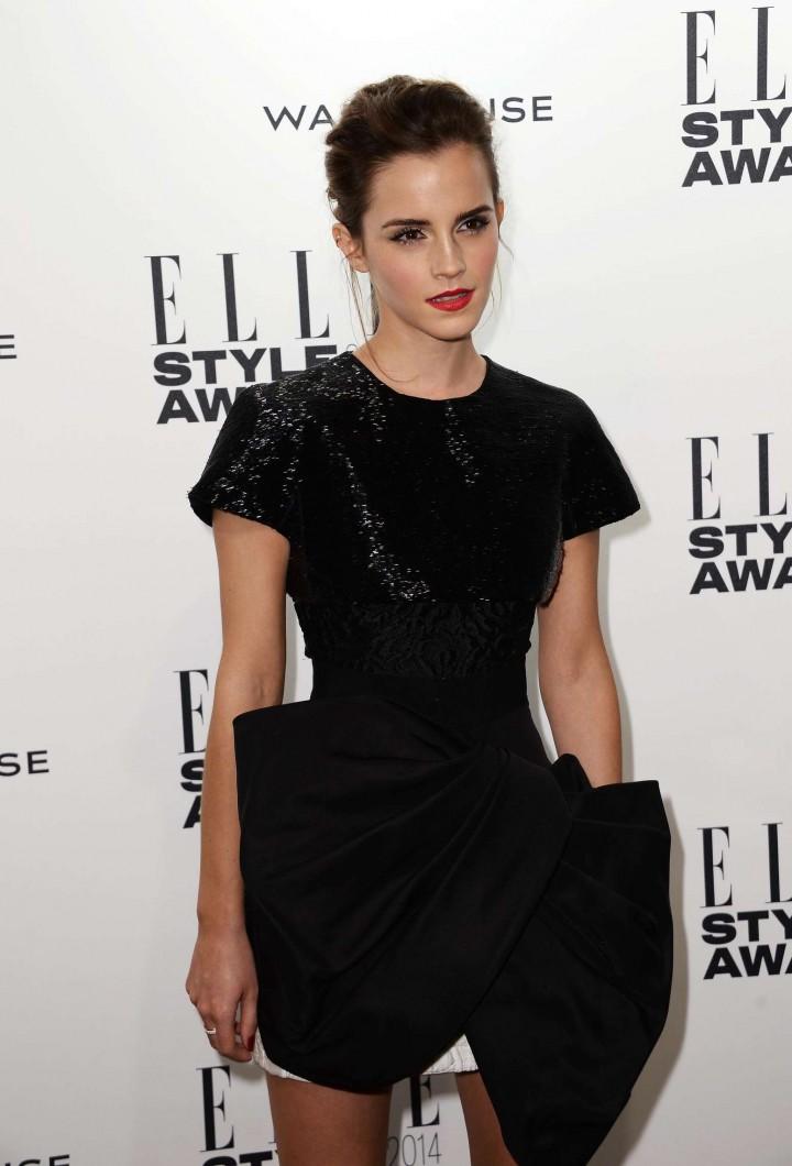 Emma Watson Elle 2014 Style Awards 17 Gotceleb
