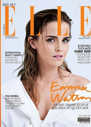 Emma Watson - Elle Vietnam Magazine Cover (January 2015)